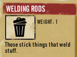 Tlsuc welding rods