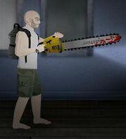 Survivor+chainsaw