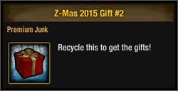 Z-Mas 2015 Gift 2