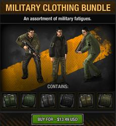 Military Clothing Bundle
