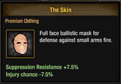 Tlsdz the skin