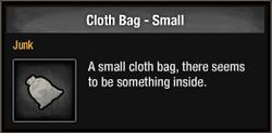 Cloth Bag - Small
