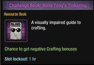 Blind Tony's Tinkering