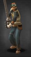 Survivor with Sword