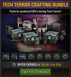Tech Terror Crafting Bundle