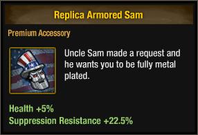 Replica Armored Sam