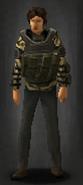 Survivor top tiger