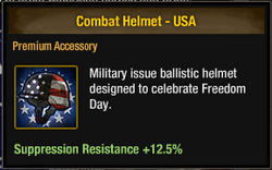 Combat Helmet - USA