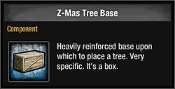 Z-Mas Tree Base 2015