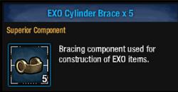 Exo cylinder