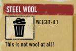Tlsuc steel wool