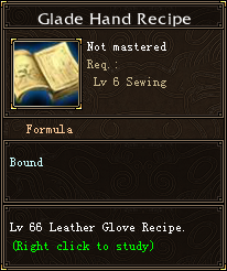 Glade Hand Recipe