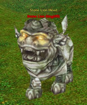 Stone Lion King