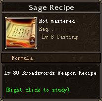 Sage Recipe