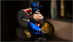 Monkey with eye inn2