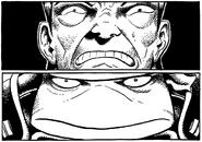 Daimyo vassal staredown