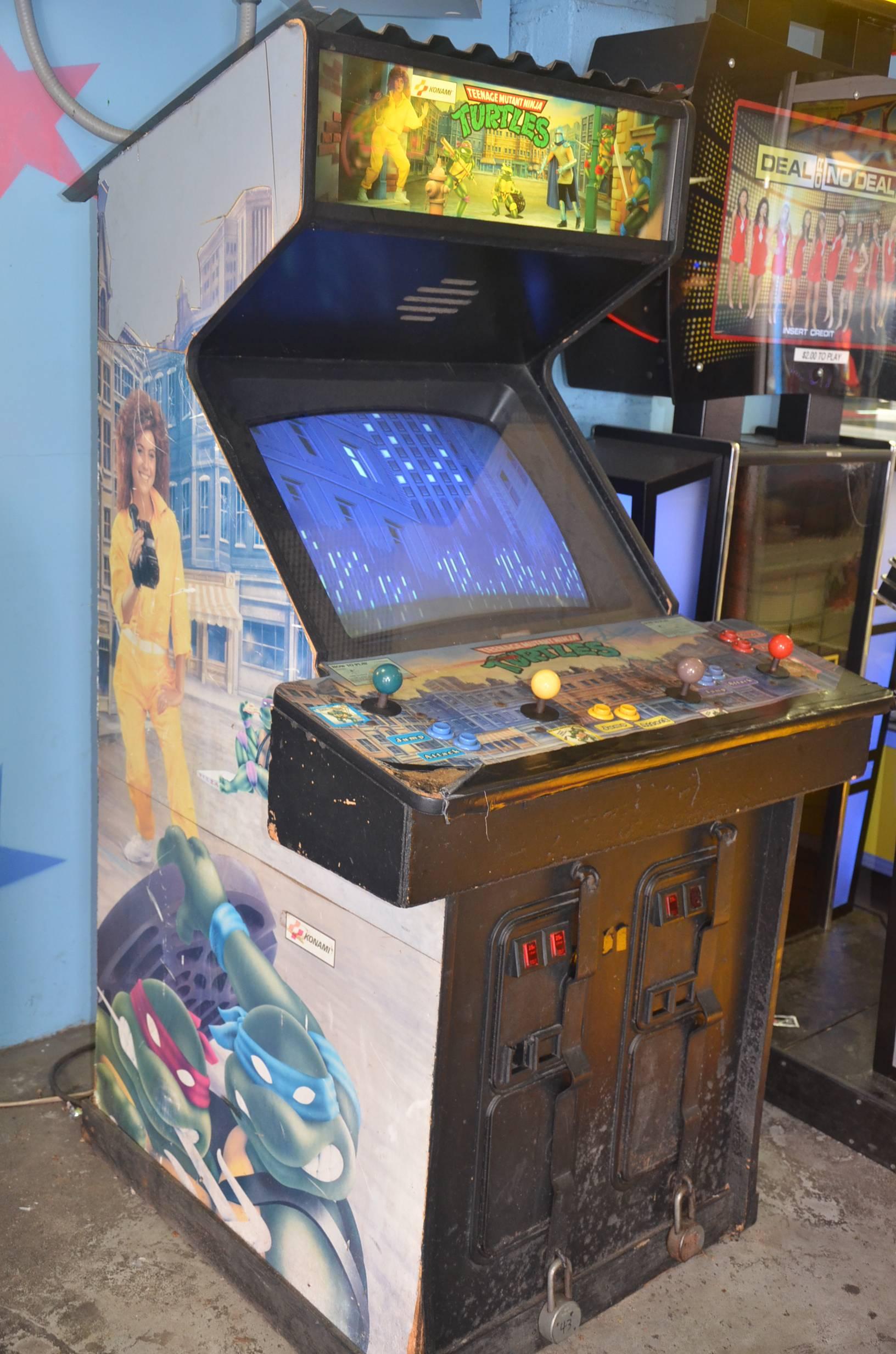 Ninja Turtles Arcade Cabinet Teenage Mutant Ninja Turtles Arcade Game Tmntpedia Fandom