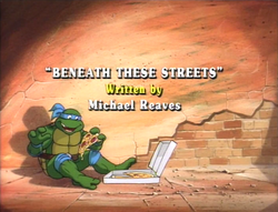 Beneath These Streets Title Card 1987