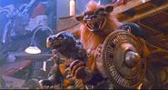TMNT 2 SECRET OF THE OOZE TOKKA&RAHZAR 6