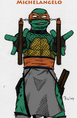 TMNT Michelangelo Colored by YintoYang