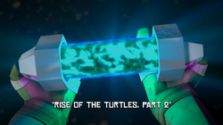 Rise of the Turtles, Part 2 title