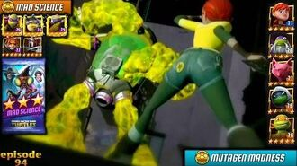 April in Mutagen Madness! 🐢Teenage Mutant Ninja Turtles Legends (TMNT Legends) gameplay 2016
