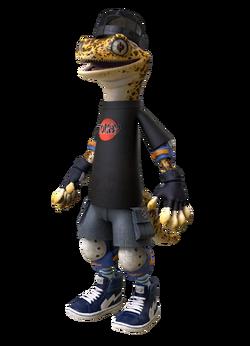 Mondo Gecko With Cap Profile