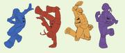Dancing queens by toothianafairy-d6it0ze