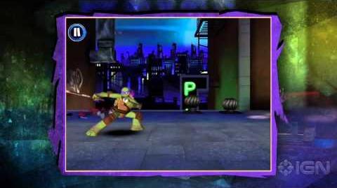 Teenage Mutant Ninja Turtles Rooftop Run - Debut Trailer-0