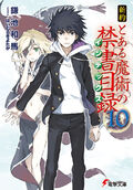 Shinyaku Toaru Majutsu no Index Light Novel v10 cover