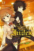 A Certain Magical Index Light Novel v12 cover