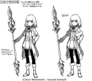 Leivinia Character Design NT10