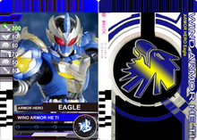 1 1 1 1 Armor Fighter Eagle Warrior Card