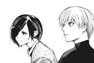 Touka and Kaneki's conversation