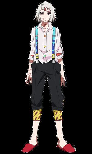 Juuzou anime design front view