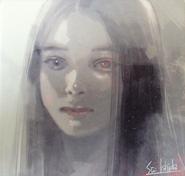 Illustration of Nozomi Sasaki as Kaya Irimi