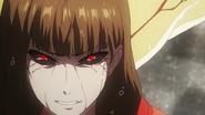 Ryuko showing her kakugan