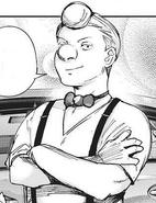 Enji Koma's current appearance