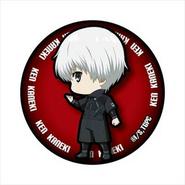 White-Haired Kaneki's can badge, ver2