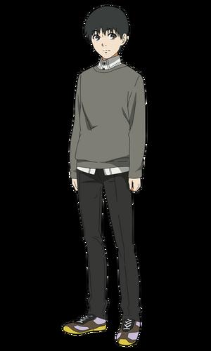 Kaneki anime design front view