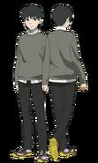 Kaneki anime design full view