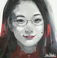 Illustration of Yū Aoi as Rize Kamishiro