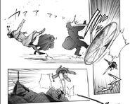 Mutsuki against Aogiri members