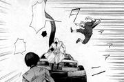Shirazu tries to distract Serpent