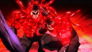 Shinohara and Kuroiwa activating the self-eating ability of Arata