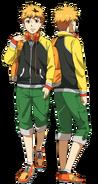 Nagachika anime design full view