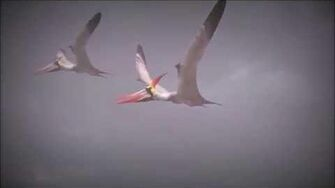 PK Pteranodon animation test (WIP)