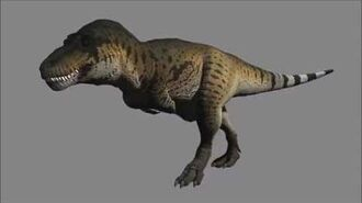 Tyrannosaurus Animations Preview (WIP)