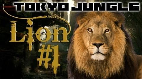 Tokyo Jungle - Lion Survival Part 1