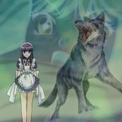 Zakuro with the Grey Wolf